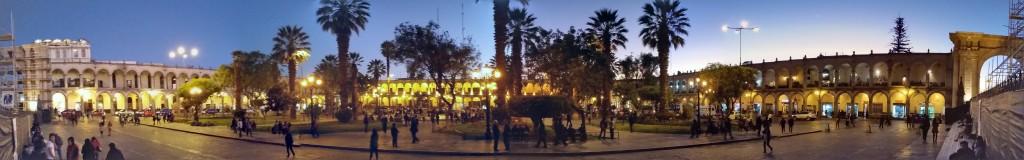 A night in Plaza de Arma