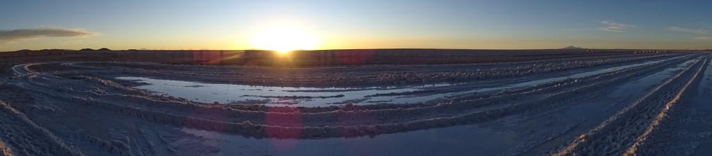 Sunset Uyuni