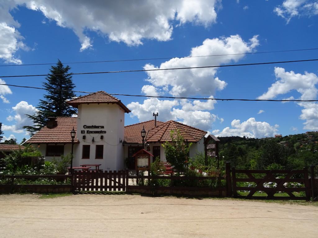 A street view in La Cumbrecita