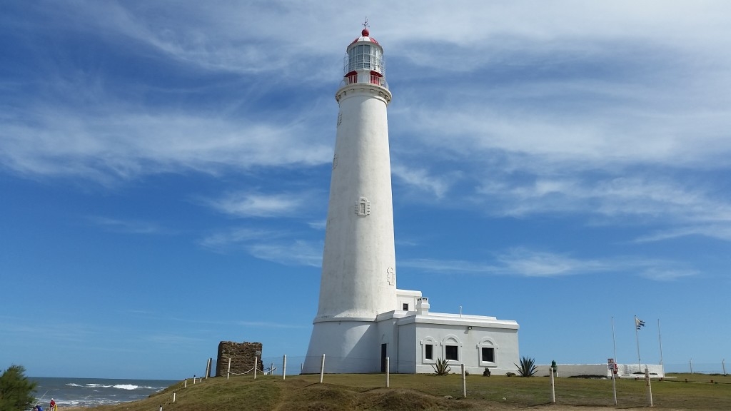 The lighthouse in Lapaloma